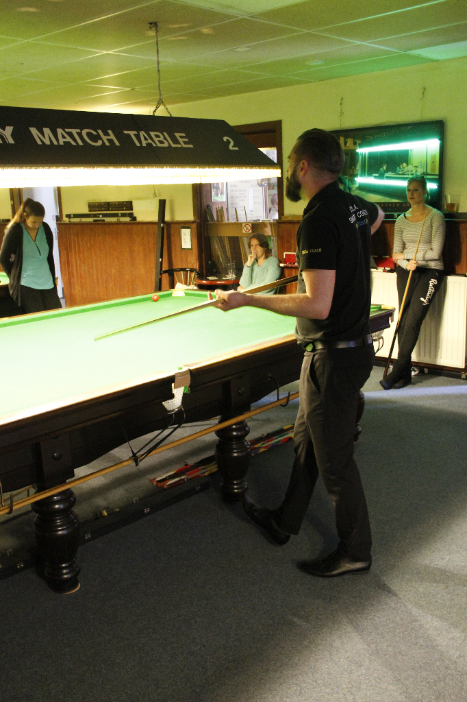 MaГџe Snookertisch